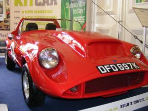 Biota - John Houghton. Rare sight at kit car show