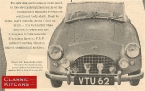 Turner Sports Cars - Turner 803. Turner A30 Advert from 1956