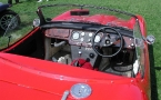 Elva Cars - Courier. Interior not quite finished