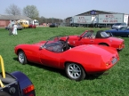 Elva Cars - Courier. subtle tail fins