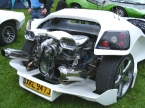 Nova Sports Cars - Nova. Engine detailing fantastic
