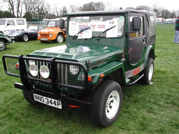 Jago Automotive - Jago Jeep. Jago Jeep at Detling 2006