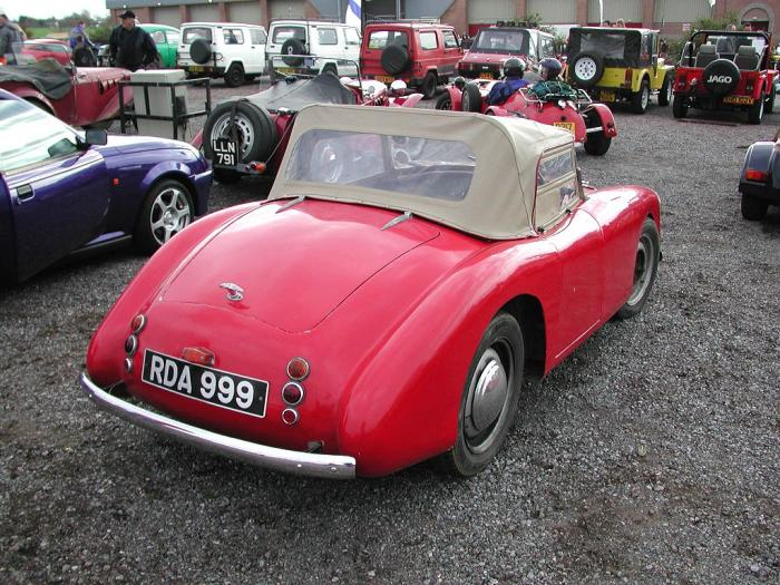 Turner Sports Cars - Turner 803. Rear view of Turner 803