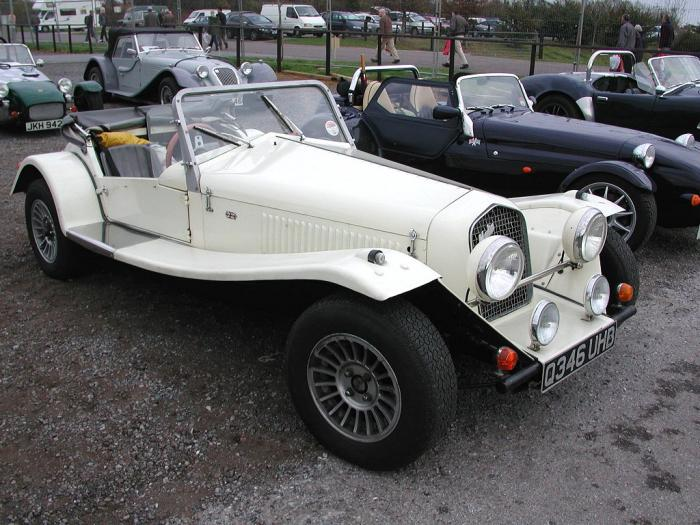 Marlin Cars - Roadster. Nice white Marlin Roadster