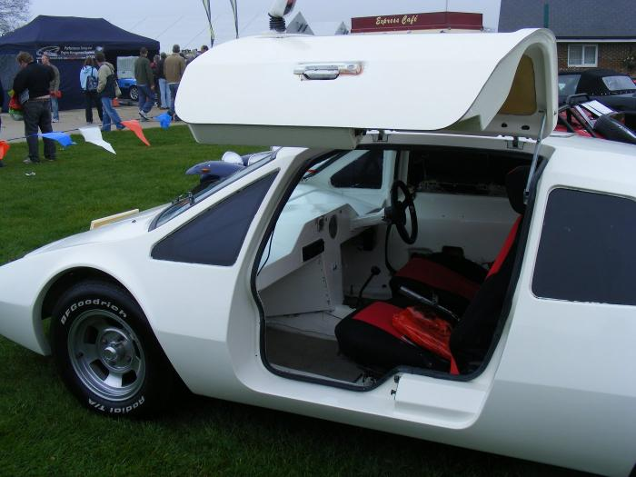 Embeesea Kit Cars - Charger. Gullwing door up