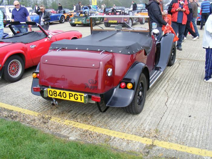 Minion - Jackal. At Detling 2009 kit car show